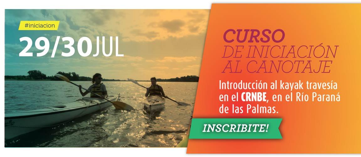 CURSO DE INICIACION AL CANOTAJE 29 Y 30 JULIO