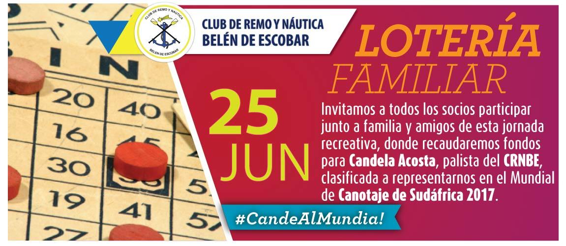 Lotería Familiar 25 Junio