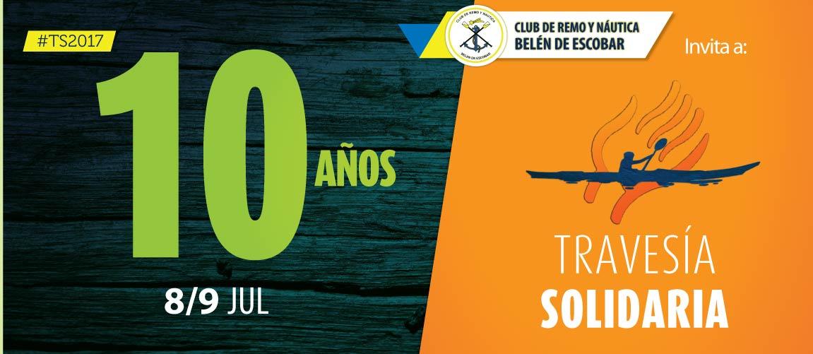 Travesía Solidaria CRNBE / 10 años!